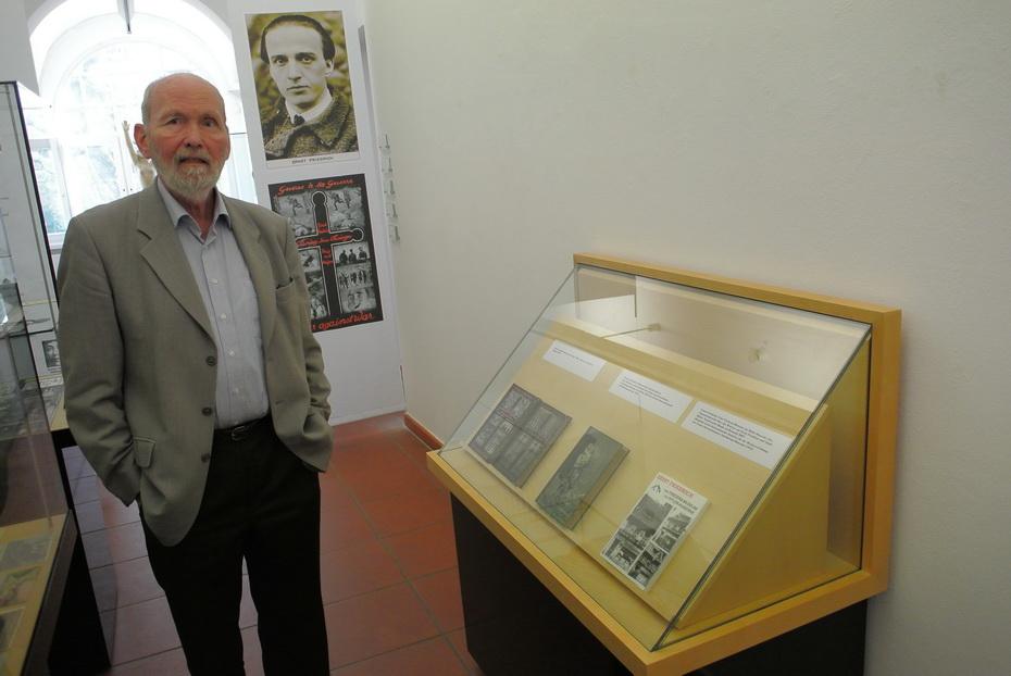 Ernst Friedrich Ausstellung im Kunstmuseum Solingen  Prof. Jörg Becker - Foto: Michael Mahlke